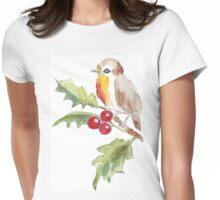 One Little Bird 2 Womens Fitted T-Shirt