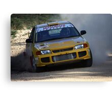 Rally of Lithgow - EVO 3 Canvas Print