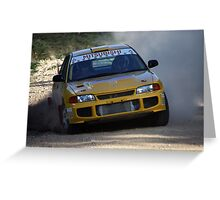 Rally of Lithgow - EVO 3 Greeting Card
