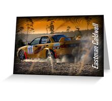 Rally of Lithgow 2009 - Eastman Caldwell Greeting Card