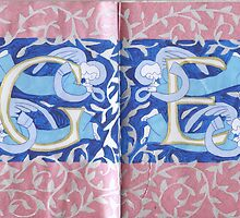 The Sketchbook Project 2016 - Pages 8 & 9 by Donna Huntriss