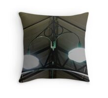 Flinders Station Lights Throw Pillow