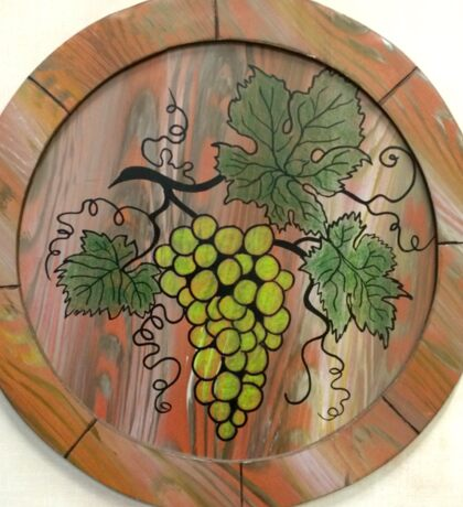 Green Grapes Sticker