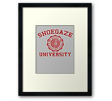 Shoegaze University Framed Print