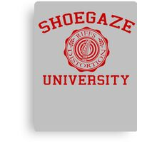 Shoegaze University Canvas Print
