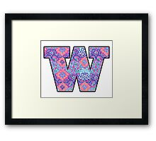University of Washington Framed Print