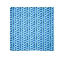 Blue Rupee Scarf