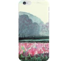 SPIRIT OF SPRING - ENCHANTED PINK TULIP-FIELD in the Park iPhone Case/Skin
