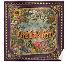 Panic! At The Disco - Pretty. Odd. (Album Cover) Poster