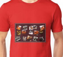 The Ultimate Music Collage Unisex T-Shirt
