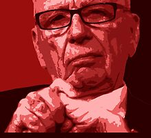 "Murdoch ""Nope"" Pop-Art by Paddy Conroy"