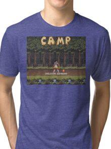 Camp: Bonfire Tri-blend T-Shirt
