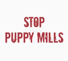 Stop Puppy Mills (Red Logo) by jdbruegger