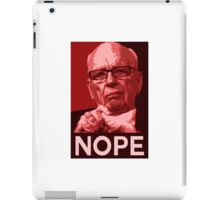"Murdoch ""Nope"" Pop-Art iPad Case/Skin"