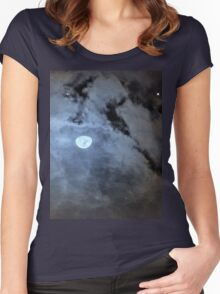Blue Moon Women's Fitted Scoop T-Shirt