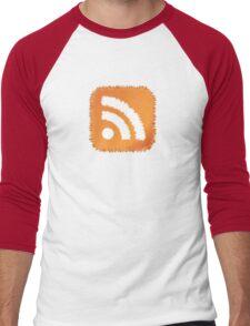 RSS Feed Men's Baseball ¾ T-Shirt
