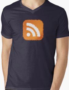 RSS Feed Mens V-Neck T-Shirt