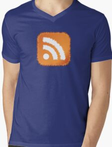 RSS Feed Mens V-Neck T-Shirt