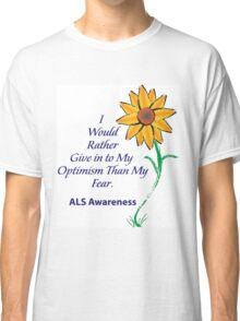 ALS Awareness Sunflowers  Classic T-Shirt