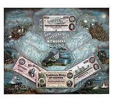 The Confederate Note Memorial by warishellstore