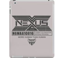 Tyrell Corporation NEXUS iPad Case/Skin