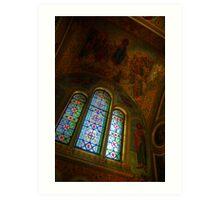 Church Interior 2 Art Print