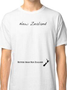 New Zealand - Better than Old Zealand Classic T-Shirt