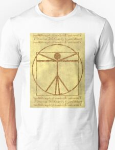 Vitruvian Stickman T-Shirt