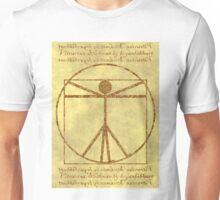Vitruvian Stickman Unisex T-Shirt