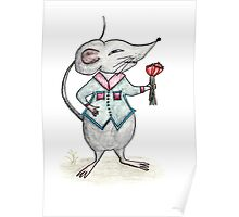 The Sketch House Mouse Poster