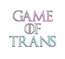 Game of Trans Photographic Print