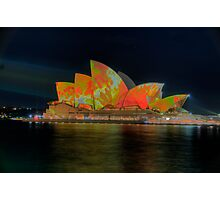 Psychedelic Dreaming - Vivid Sydney Festival - The HDR Experience Photographic Print
