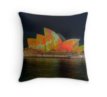 Psychedelic Dreaming - Vivid Sydney Festival - The HDR Experience Throw Pillow