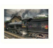 No: 63395 Steam Train Art Print