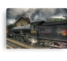 No: 63395 Steam Train Canvas Print