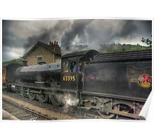 No: 63395 Steam Train Poster