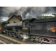 No: 63395 Steam Train Photographic Print