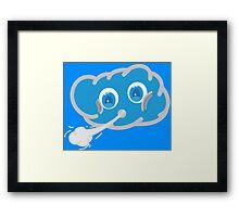 Cloudy Framed Print