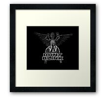 Doctor Who - Weeping Angels - Don't Blink Framed Print