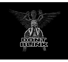 Doctor Who - Weeping Angels - Don't Blink Photographic Print