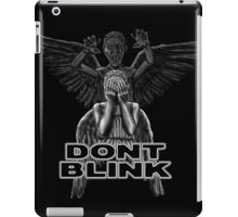 Doctor Who - Weeping Angels - Don't Blink iPad Case/Skin