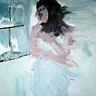Blurry Bathroom by Rosanna Jeffery