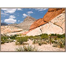Red Rock Canyon, Nevada Photographic Print