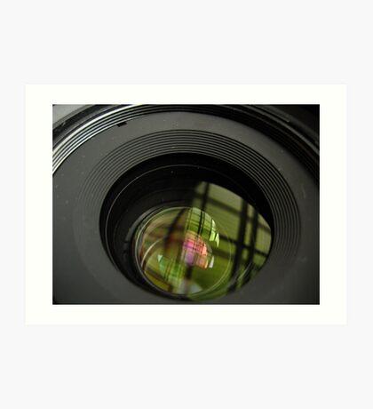 The Lens Art Print