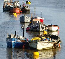 Boats in Shoreham Harbour  by TheWalkerTouch