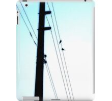 Out on a Line iPad Case/Skin