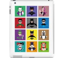 Batman Gotham Heroes & Villains iPad Case/Skin