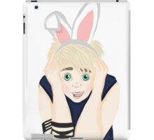 """Punk Rock"" Bunny Boy iPad Case/Skin"