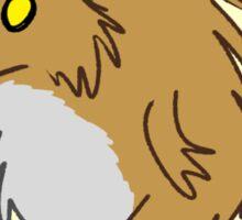 Stubby the Werewolf Sticker