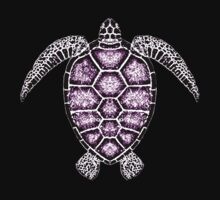 Purple Turtle T by gardenofbeeden